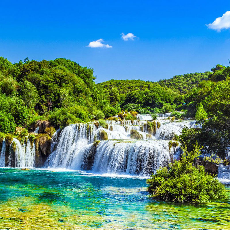 KRKA & ŠIBENIK PRIVATE TOUR FROM PLITVICE Degenija tours